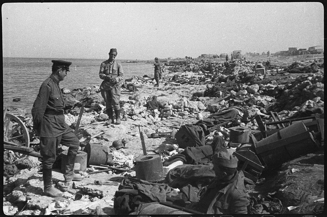 Крымская наступательная операция во время ВОВ