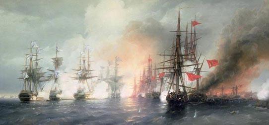 Российская армия – история. Синопское сражение
